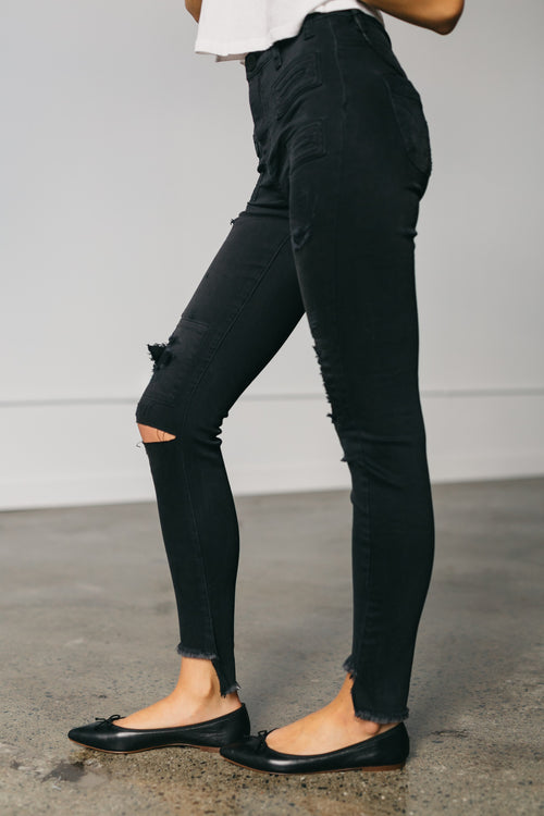 Dark Fantasy Scallywags Denim Jeans by OneTeaspoon