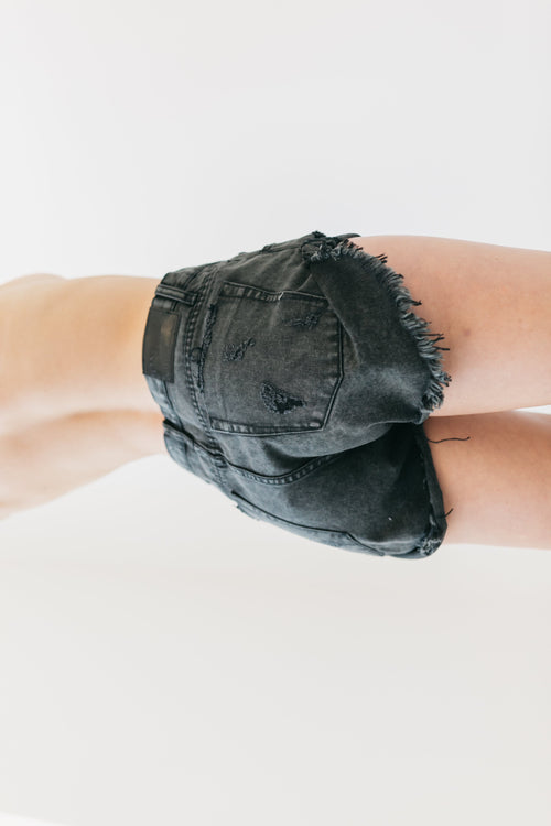 Fox Black Bandit Denim Shorts by OneTeaspoon Australia