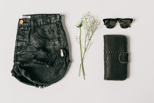 Coal Bandits Denim Shorts by OneTeaspoon Australia