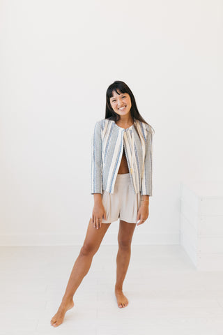 Brooke Chambray Swing Jacket