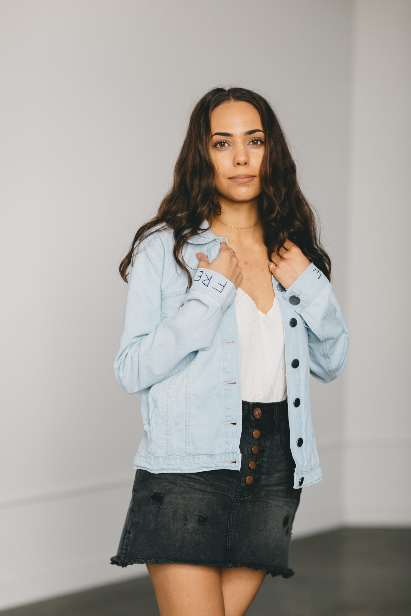 Le Surf Chambray Rock n Rolla Jacket by OneTeaspoon Australia