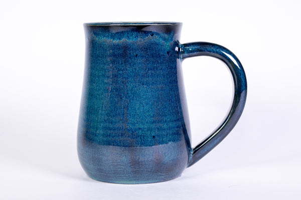 Blue and Green Handmade Pottery Mug