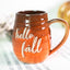 Hello Fall sprig mold