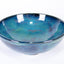 Blue and Green Wave Bowl (stackable)