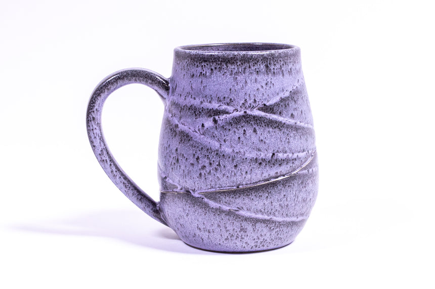 Purple Dusk Wave mug
