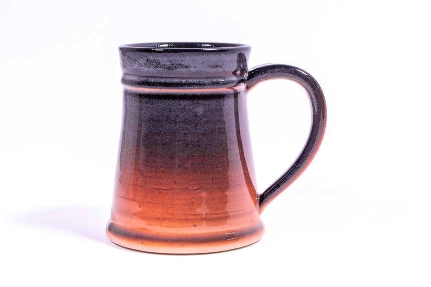 Black and Orange Gradient stein