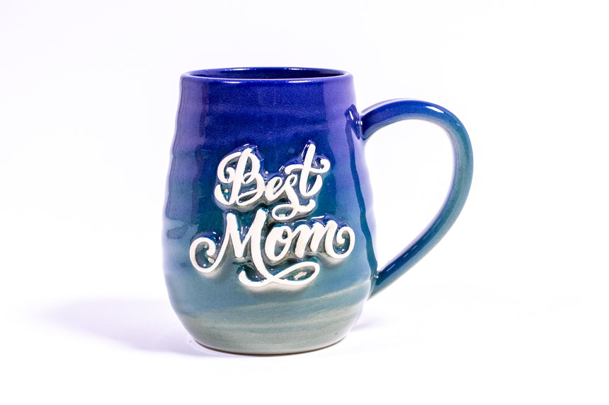 Best Mom Swirl mug
