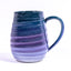 Green and Purple Gradient Swirl mug