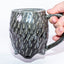 Black rain mug - Faceted series