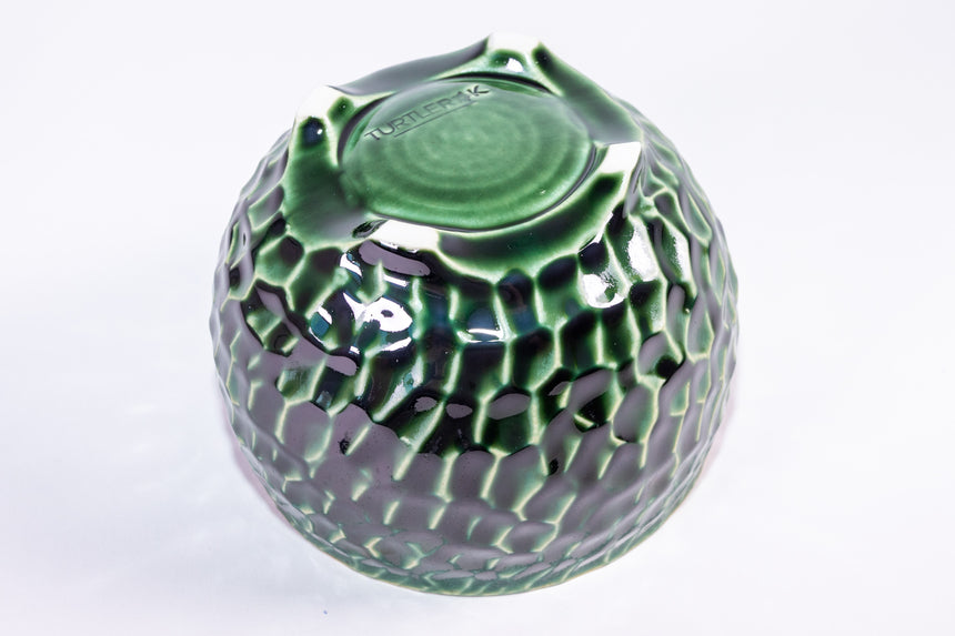 Seafoam bowl - Faceted series