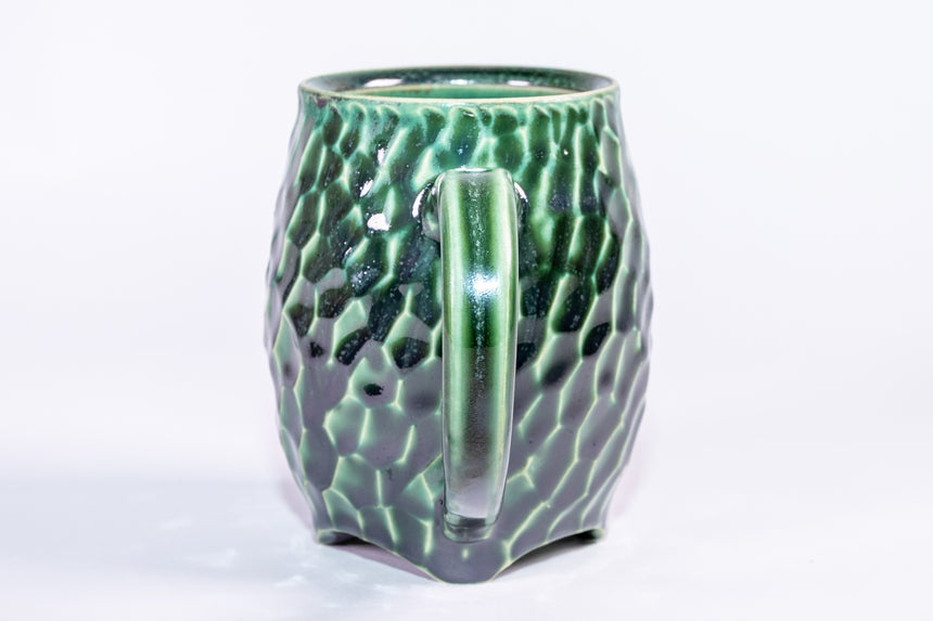 Seafoam mug - Faceted series