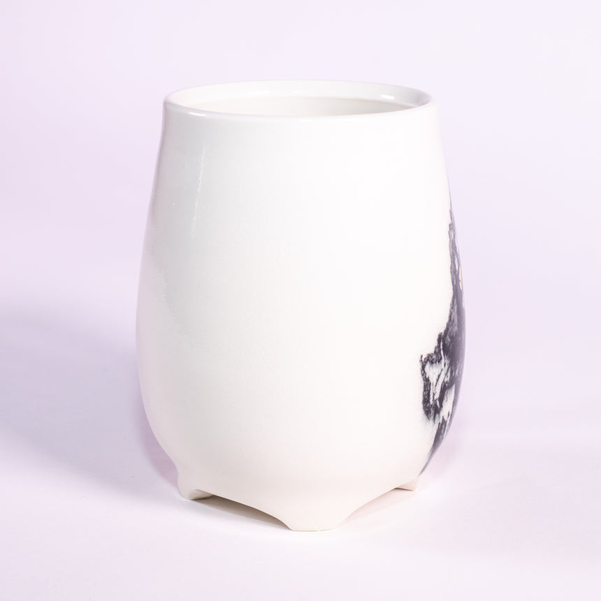 The Dragon - Porcelain series mug