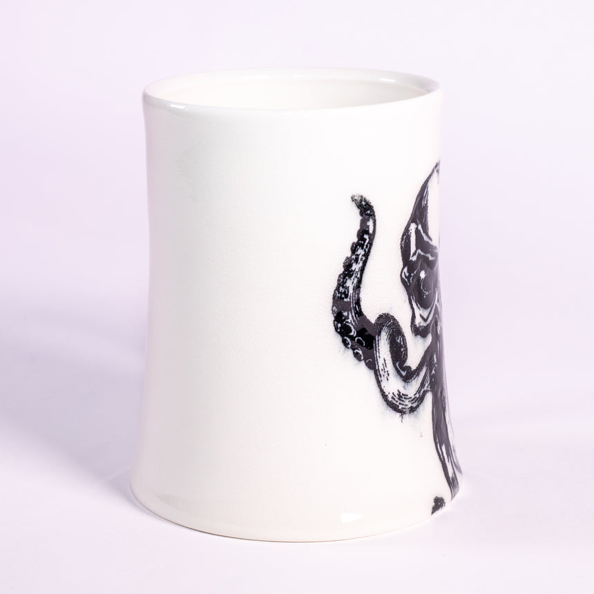 The Kraken - Porcelain series mug