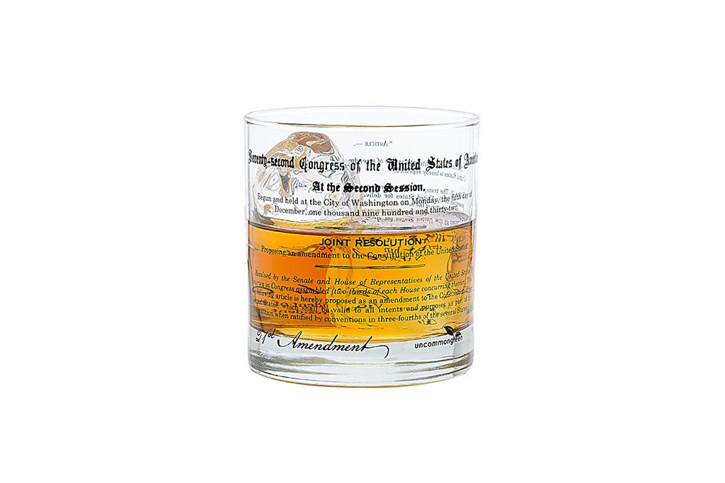 Prohibition 21st Amendment Rocks Glass
