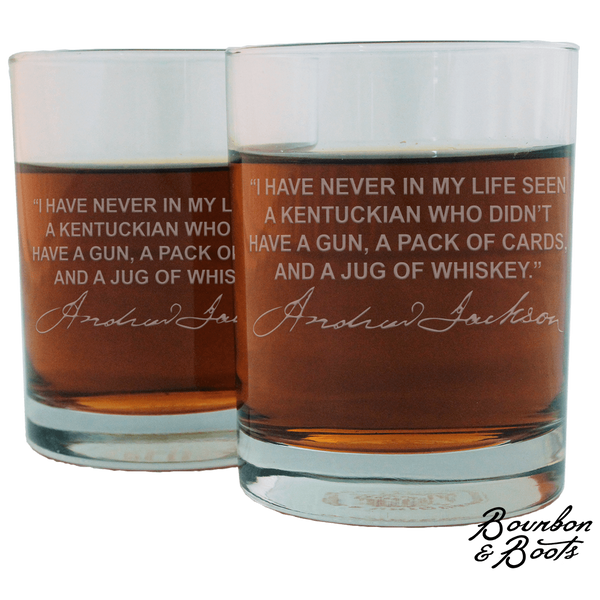 Whiskey Lovers Engraved Personalized Whiskey Glasses (Full Set of 12)