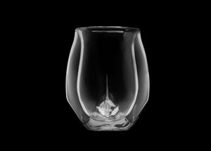 Norlan Hand-Blown Double-Walled Whiskey Glass