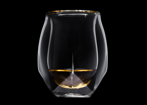 Norlan Hand-Blown Double-Walled Whisky Glass