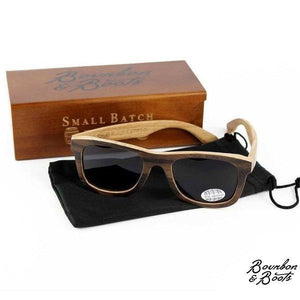 Bourbon Barrel Polarized Wooden Sunglasses