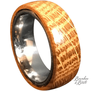 Authentic Bourbon Barrel Men's Ring-Accessories-Bourbon & Boots