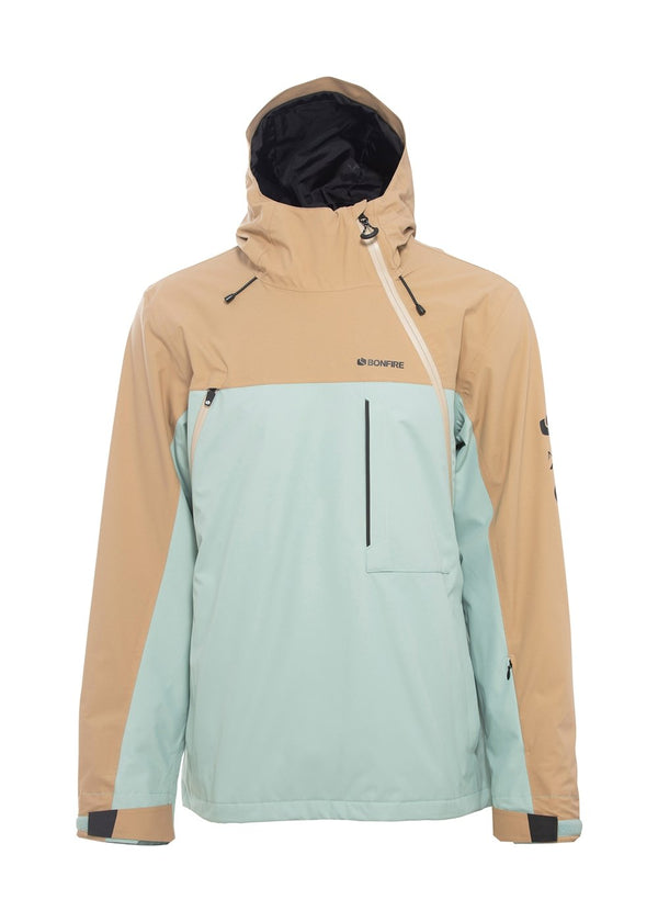 BETA STRETCH PULLOVER ANORAK JACKET (UNISEX)