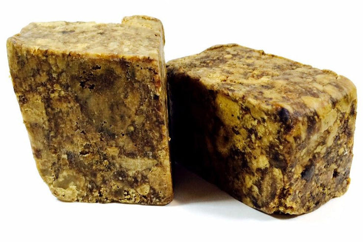 RAW African Black Soap Bar - Shea Shea Bakery