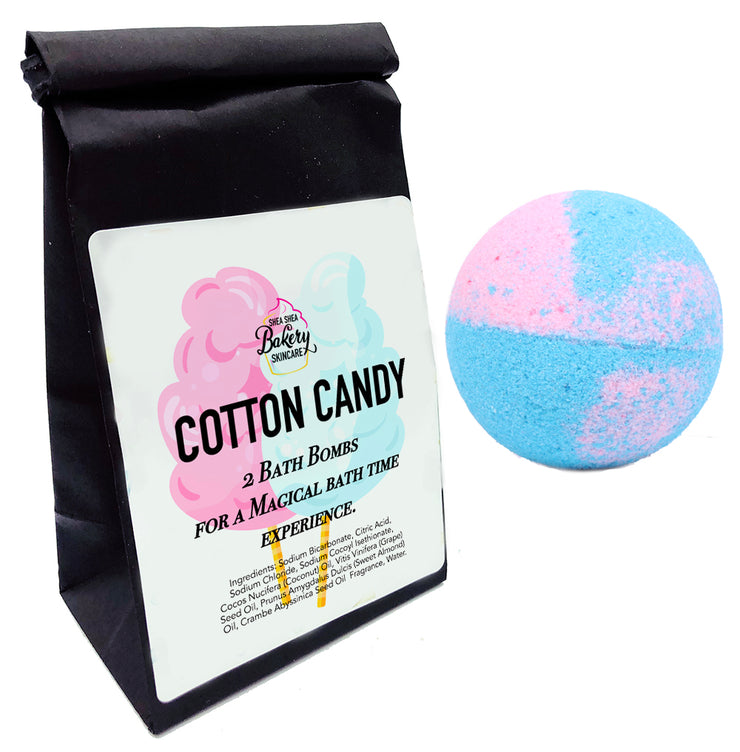 Bath Bomb-Cotton Candy