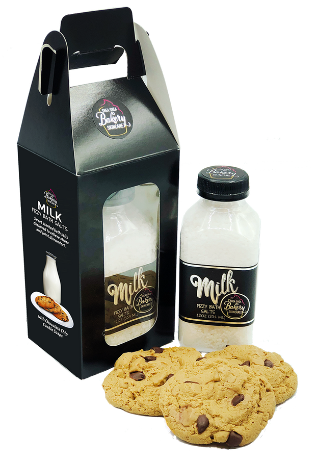 Milk & Cookies Bath Set