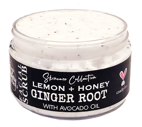 Lemon+Honey Ginger Root Scrub