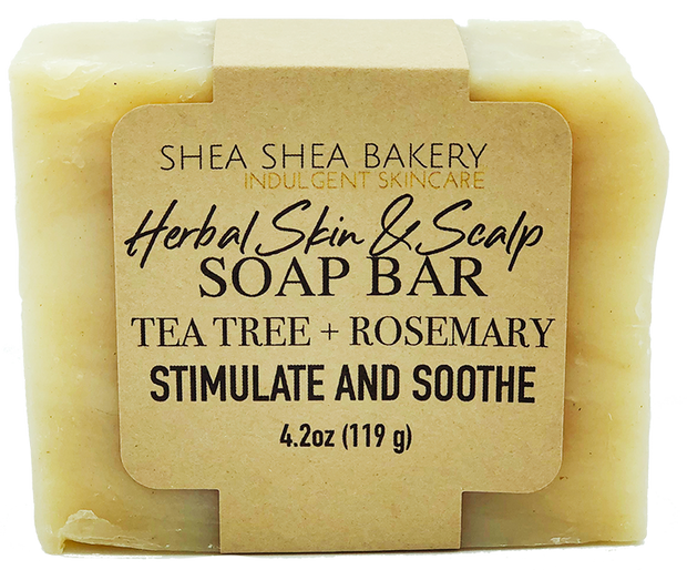 Herbal Skin & Scalp Soap Bar