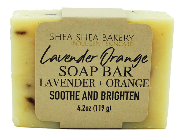 Lavender Orange Soap Bar