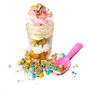 IT'S EDIBLE!- Fairy Dust Cake in a Jar