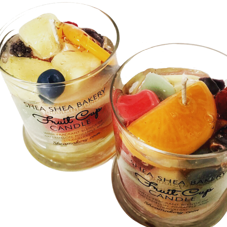 Fruit Cup Candle