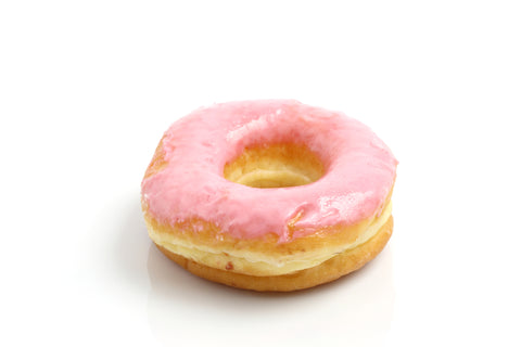 Strawberry Frosted Donut