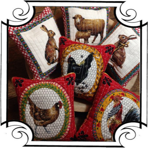 Charming Creatures Pincushions