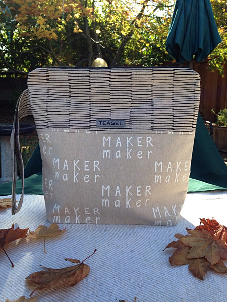 """Maker"" Project Bag-- Large"