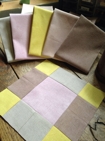 Quilter's Fat Quarters - Naturally Dyed