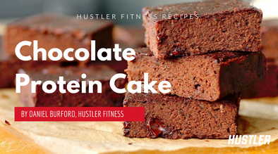 Low Carb Chocolate Protein Cake!