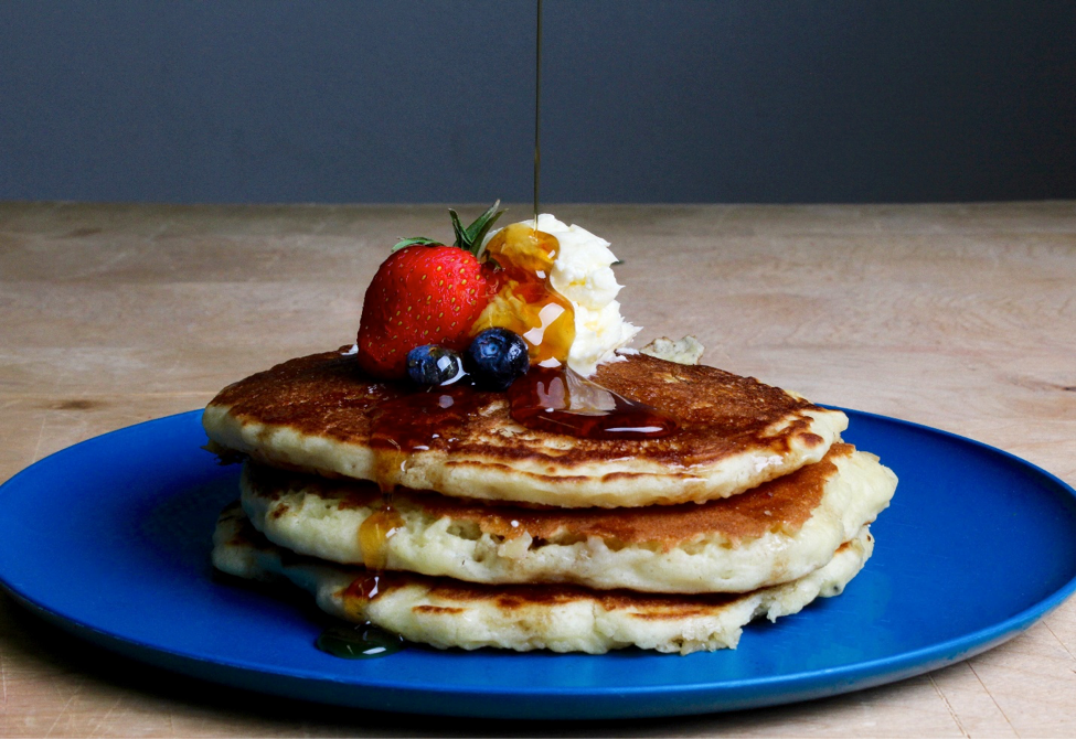Easy Vegan Pancakes! [With Video]