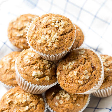 Healthy Banana Muffins with the WOW Factor! [Includes Video]