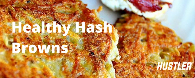 How to Make Low-Carb, Healthy Hash Browns! [With Video]