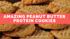 Delicious Peanut Butter Protein Cookies