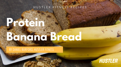 Perfect, Bodybuilder-Friendly Protein Banana Bread