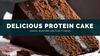 Delicious Whey Protein Cake in Under 88 Seconds!