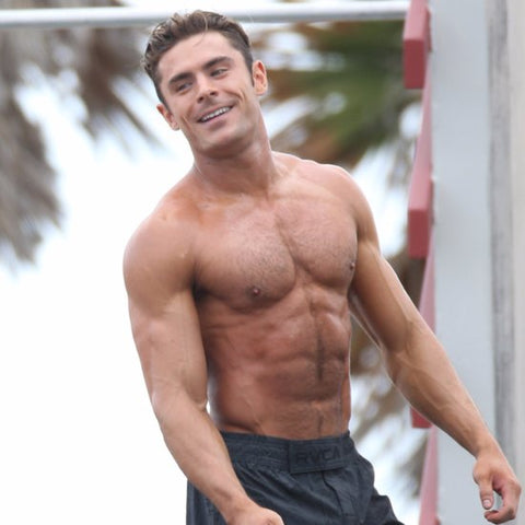 Zac Efron Neighbors Workout