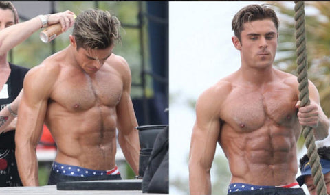 Zac Efron Workout Diet