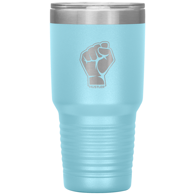 Pride Raised Fist 30oz Laser Etched Tumbler