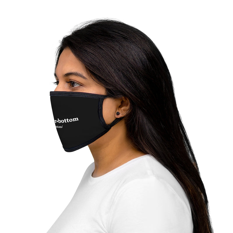 Power Bottom Dictionary Face Mask
