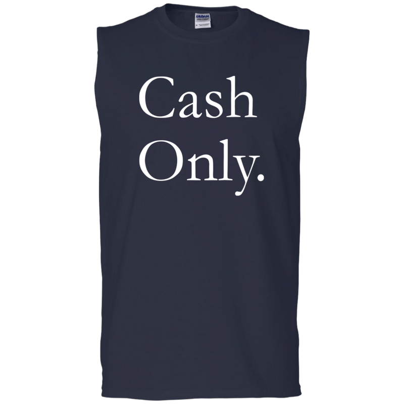 Hustler CASH ONLY Casual Tank