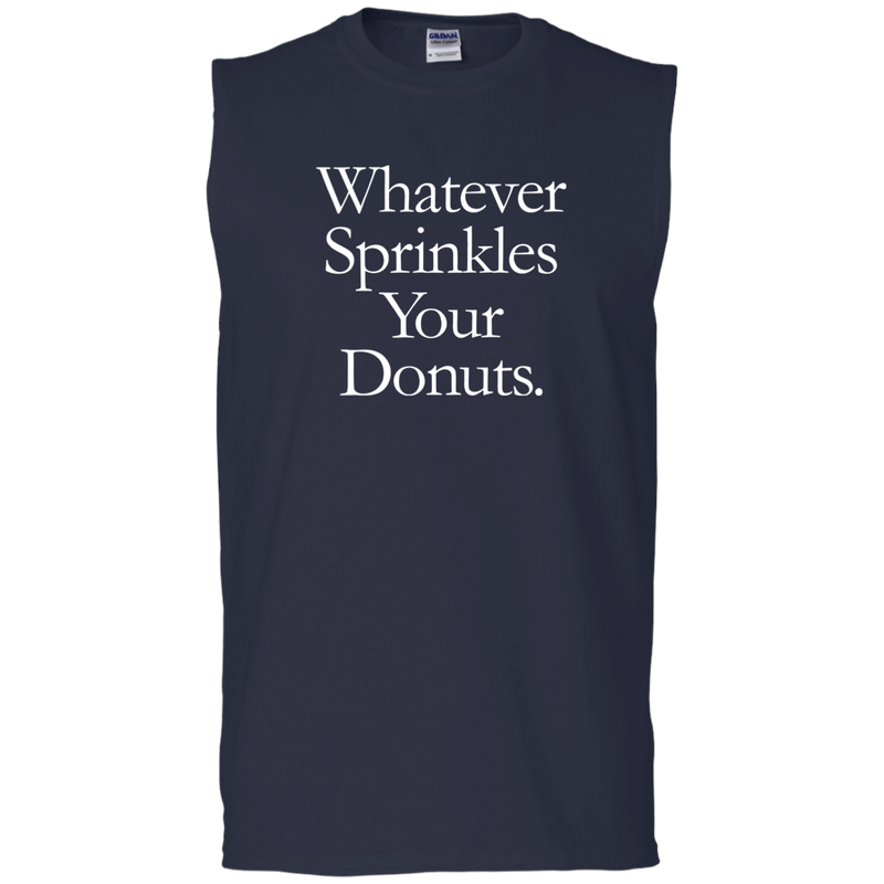 Whatever Sprinkles Your Donuts Tank