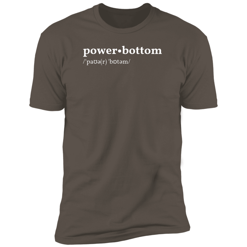 Power Bottom Dictionary T-Shirt